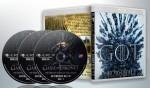 蓝光连续剧 BD50 【冰与火之歌 / 权力的游戏 第八季】美剧 3碟 正式版