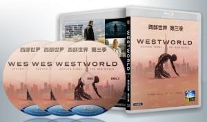 蓝光连续剧 25G【西部世界 第三季】美剧 3碟