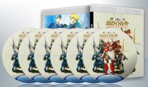 蓝光连续剧 25G【魔神坛斗士 鎧伝】1988卡通 6碟 正式版