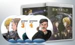 蓝光连续剧 25G【银河英雄传说 TV版+剧场版全集】上 卡通 4碟
